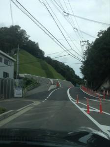 秋葉山道路1