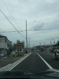 秋葉山道路2